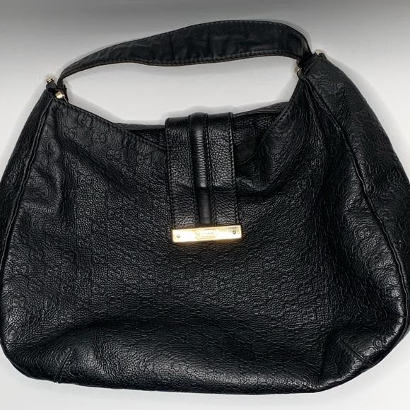 bf9d4efcee36 Gucci Bags   Lady Web Hobo Ssima Leather Large   Poshmark